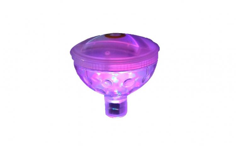 Jucarie glob cu LED pentru vana/vanita