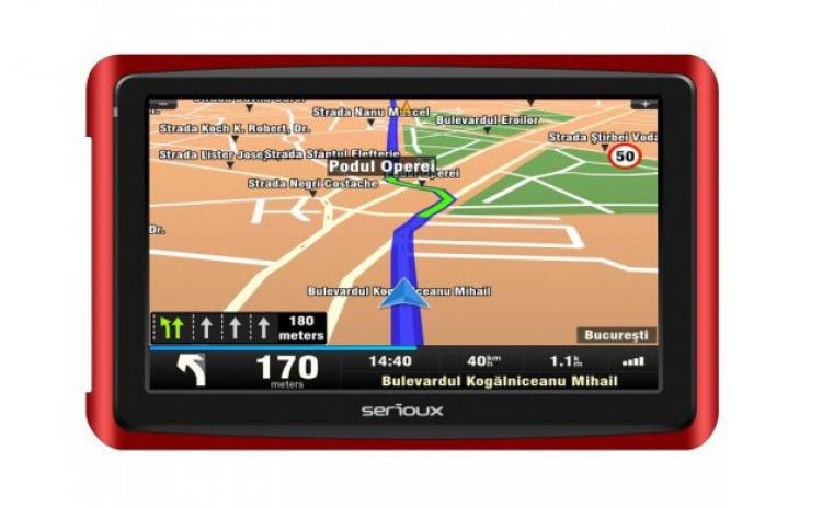 GPS 5 SERIOUX GLOBALTROTTER