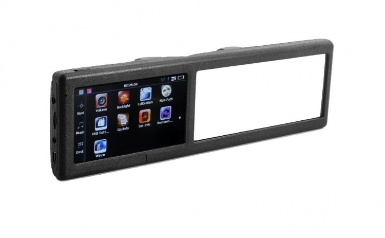 GPS incorporat in oglinda retrovizoare