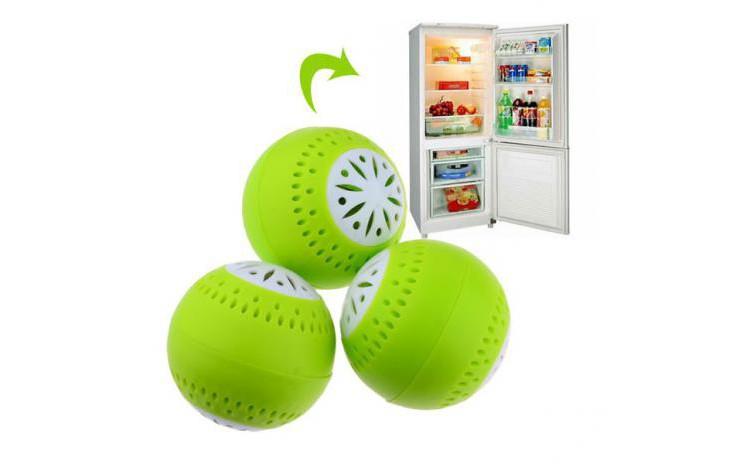 Set 3 odorizante frigider