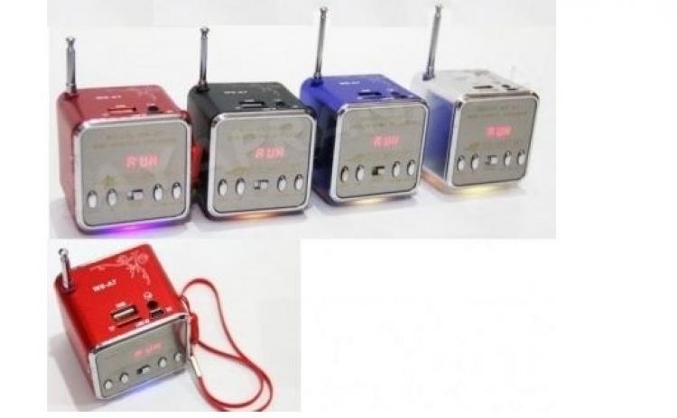 Mini boxa portabila Radio FM si MP3 Play