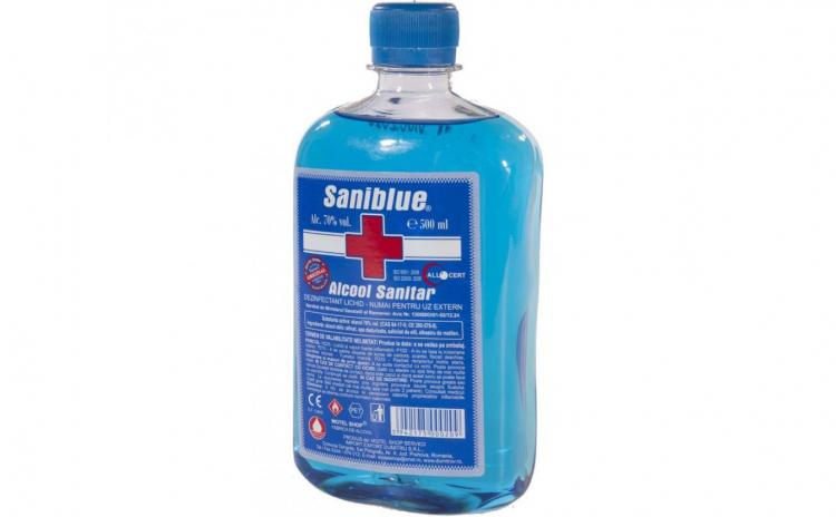 Alcool sanitar Biocid avizat MS - 500 ml