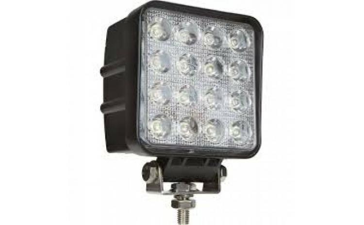 Proiector de lucru cu 16 LED-uri halogen