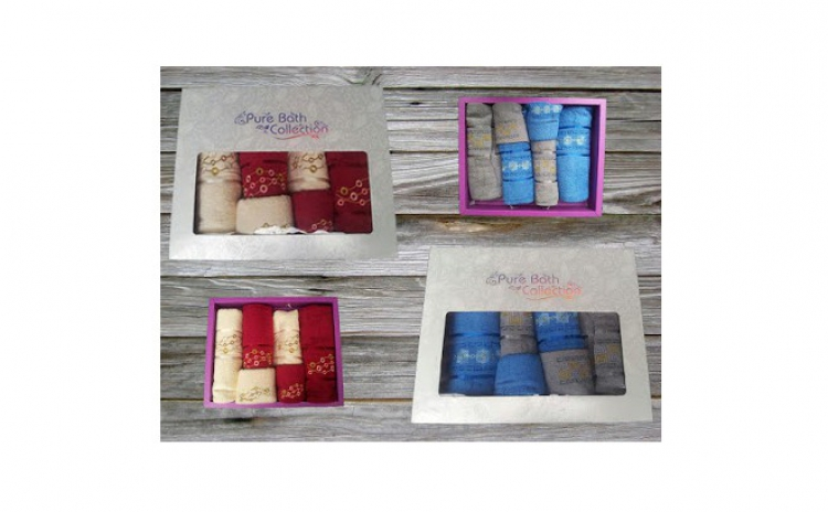 Set 6 prosoape Pure Bath Colection