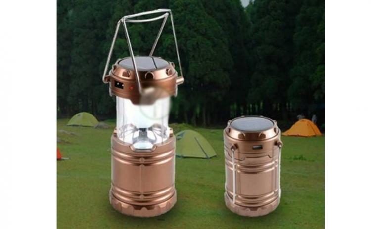 Lampa solara reincarcabila camping