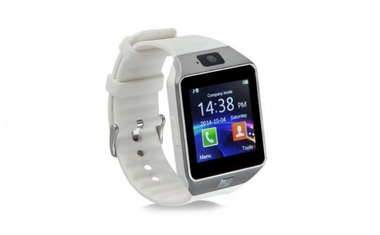 Smartwatch DZ09 White - iOS, Android