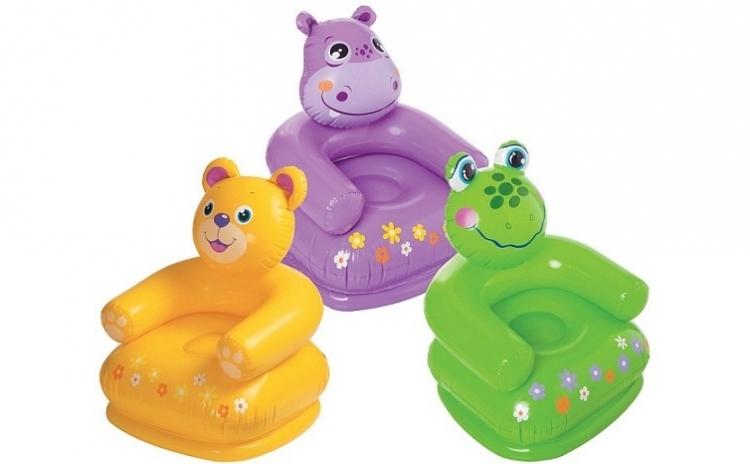 Scaun gonflabil copii Happy Animal