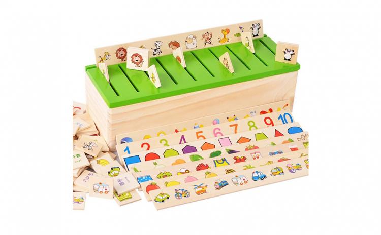Cutie asociere si sortare, Montessori