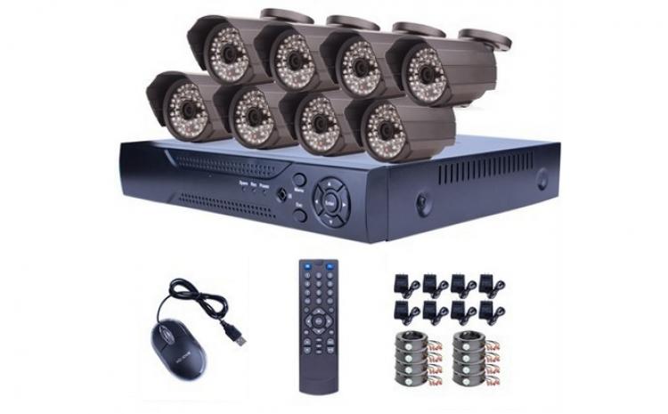 Kit de supraveghere format din 8 camere