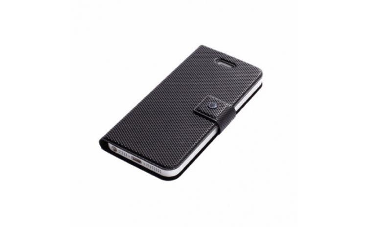Husa Fenice Flip iPhone 5 si 5s - Negru