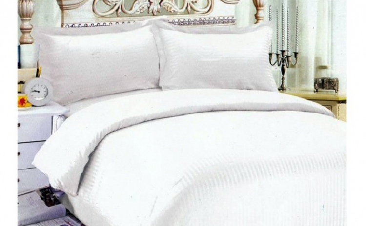 Simplitatea Inseamna Eleganta! Lenjerie De Pat Din Bumbac Damasc, La Doar 150 Ron In Loc De 375 Ron