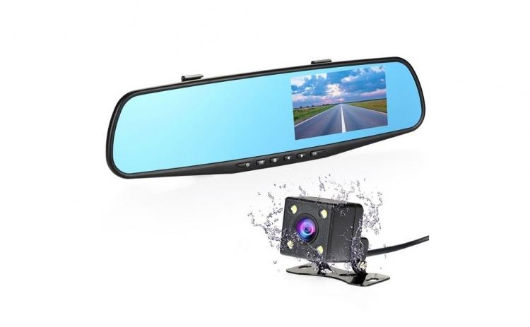 Oglinda retrovizoare cu 2 camere