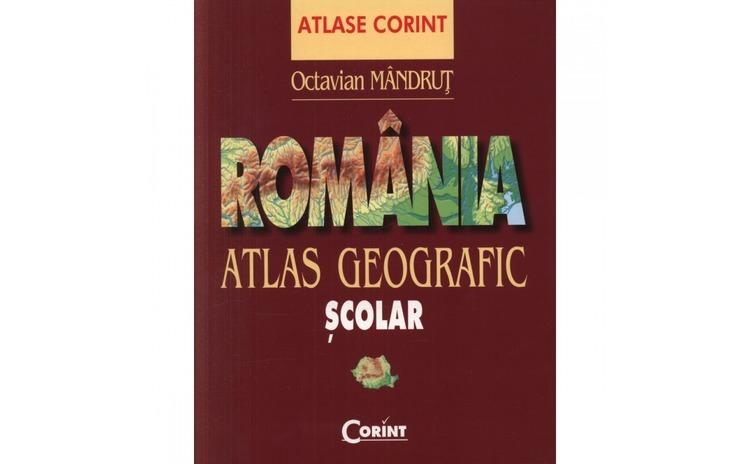 Romania - Atlas geografic scolar -
