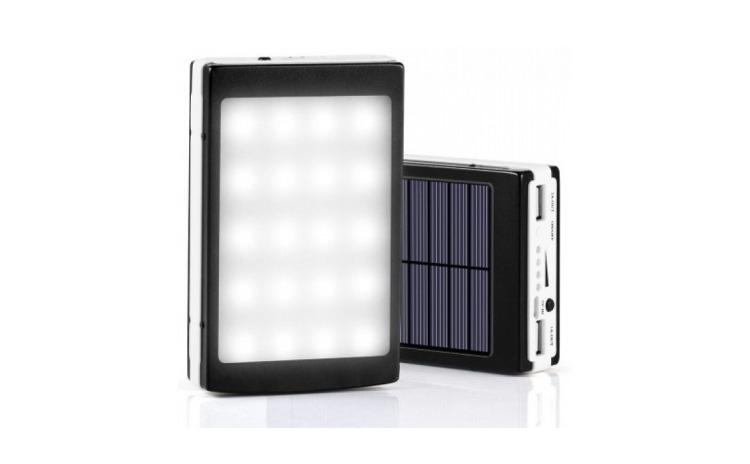Imagine indisponibila pentru Baterie externa 20000 mAh incarcare solara