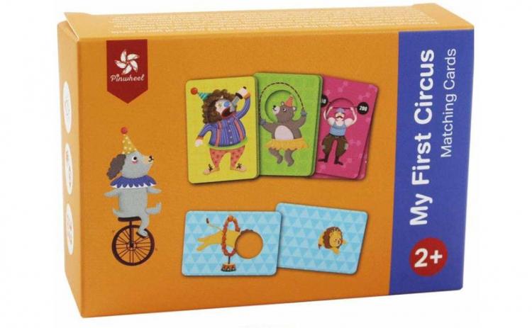 """La Circ"", joc educativ Pinwheel, +3 ani"
