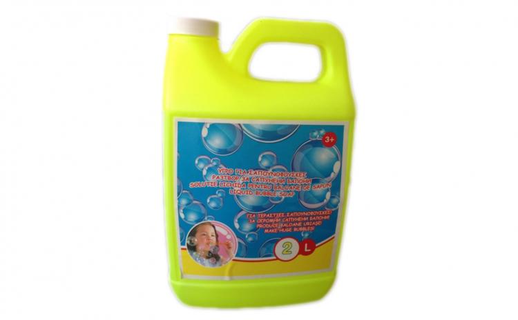 Solutie de facut baloane de sapun