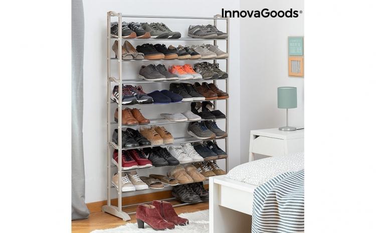 Pantofar InnovaGoods, 45 Perechi, Un organizator de pantofi practic