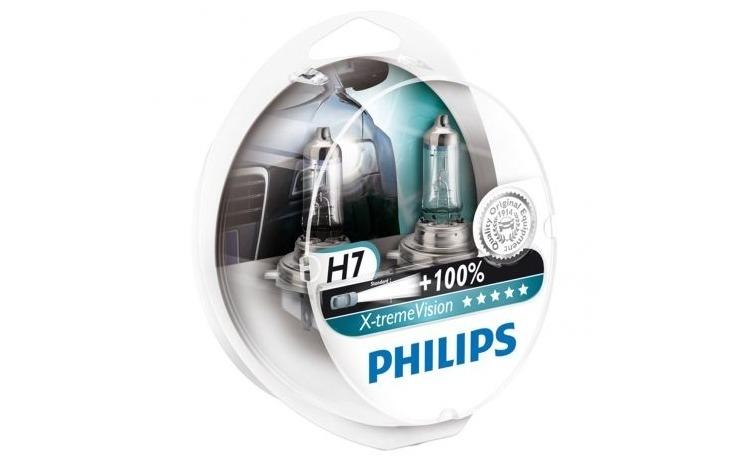 Set 2 becuri Philips H7 X-treme Vision