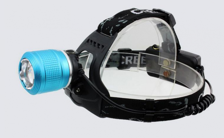 Lantern LED cap cu 2 bulbi