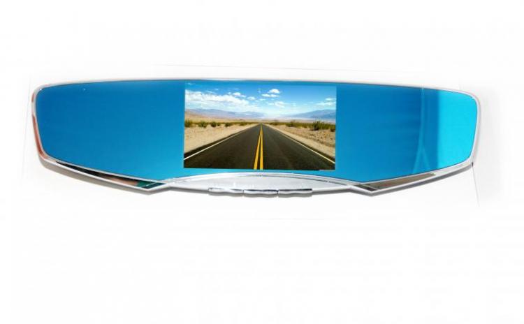 Oglina retrovizoare cu camera video