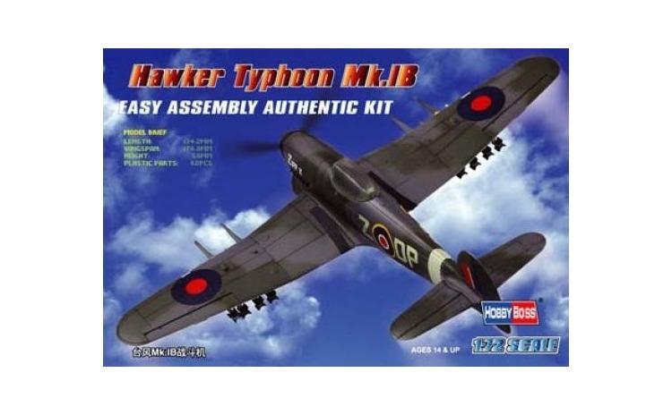 1:72 Hawker Typhoon Mk IB Figher 1:72