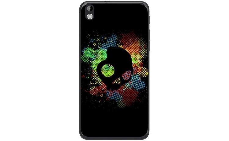 Husa Colorful Skull Dark Art Illustration HTC Desire 816