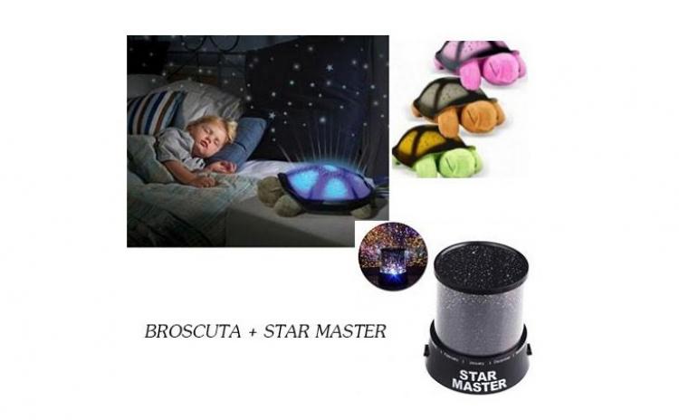 Veioza Broscuta + proiector Star Master