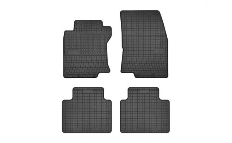Set covorase cauciuc negru NissanX-TRAI