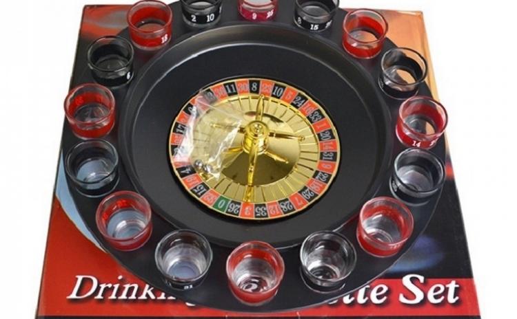 Ruleta Cu 16 Pahare Pentru Shot-uri  La Doar 69 Lei In Loc De 129 Lei