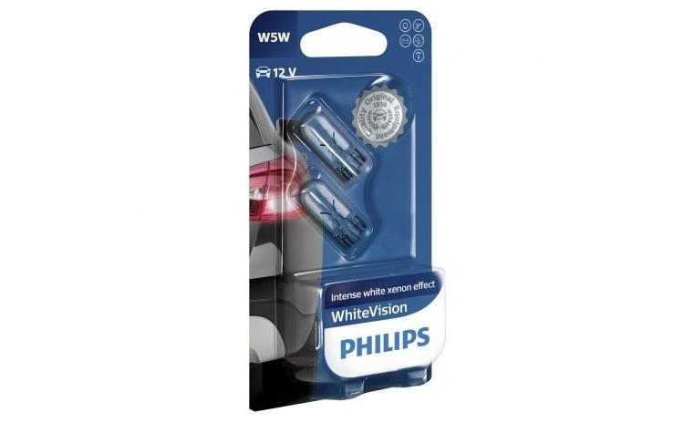 Philips W5W White Vision