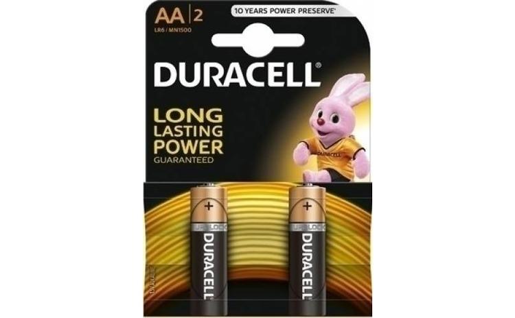 Imagine indisponibila pentru Baterii alcaline Duracell Basic AA 2 buc