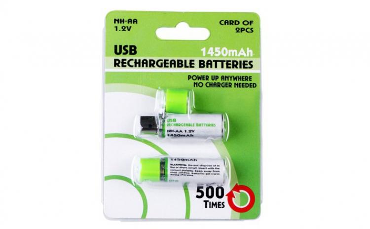 Reduceri Baterii, acumulatori si incarcatoare – 41 % Reducere – Pret Acumulatori AA reincarcabili la USB