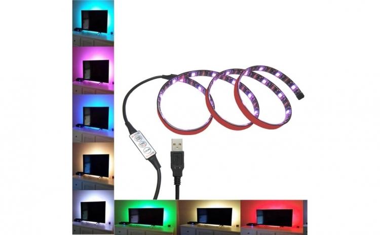Banda Led TV, 1m, RGB, IP65