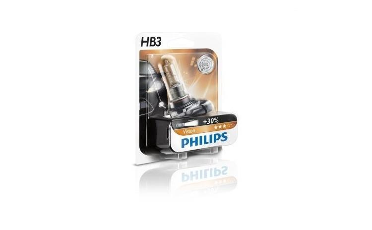Imagine indisponibila pentru Bec auto pentru far Philips HB3 Vision +30% lumina 12V 60W P20d , 1 buc.