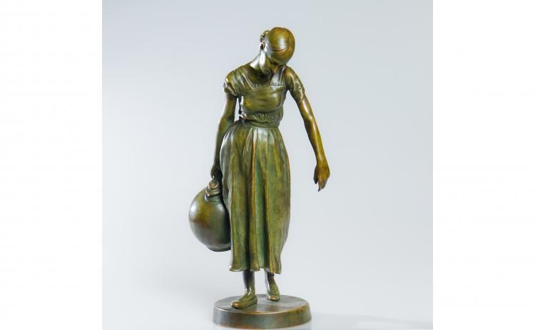 Statueta din bronz - Arthur Strasser