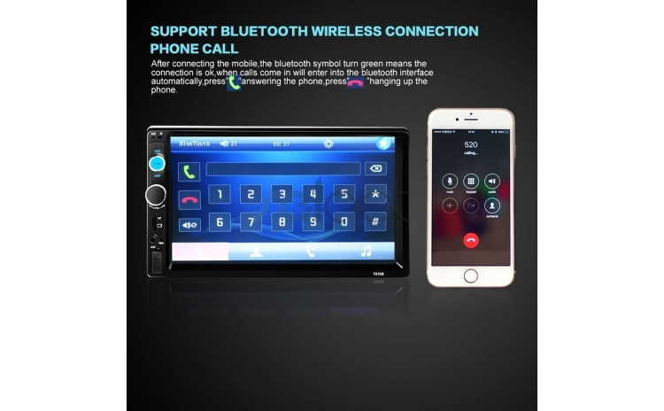 Mp5 player auto 7010b Touchscreen 7 inch