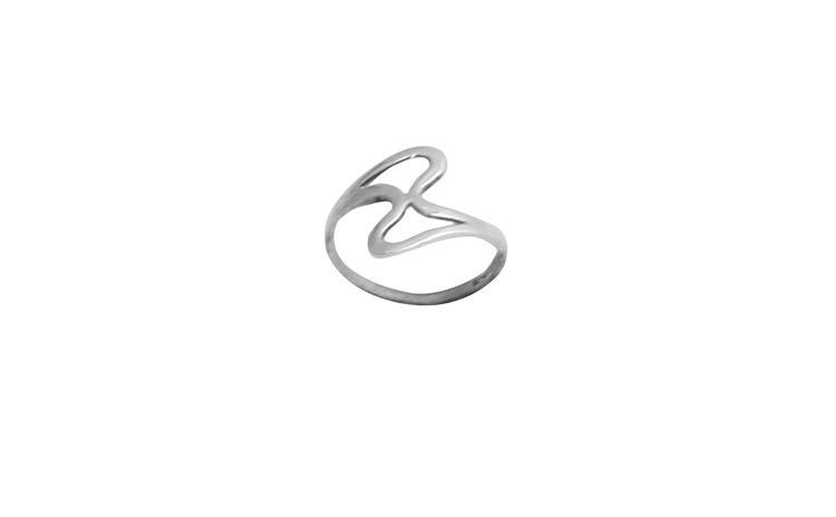 Inel Argint 925 cu Model Clepsidra,