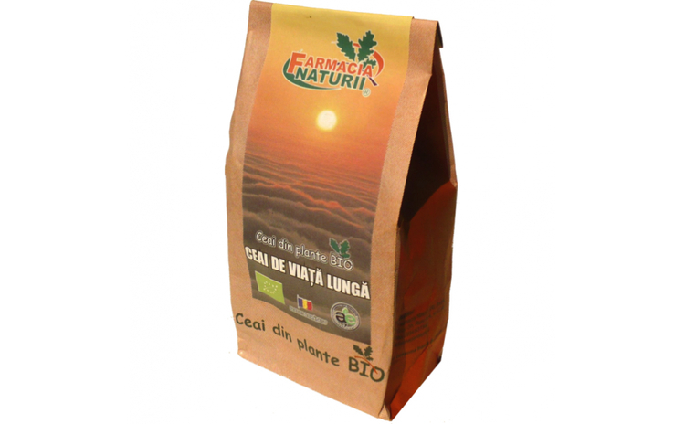 Ceai de viata lunga bio 50g
