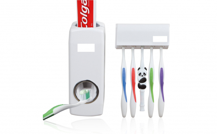Dozator pasta de dinti cu suport