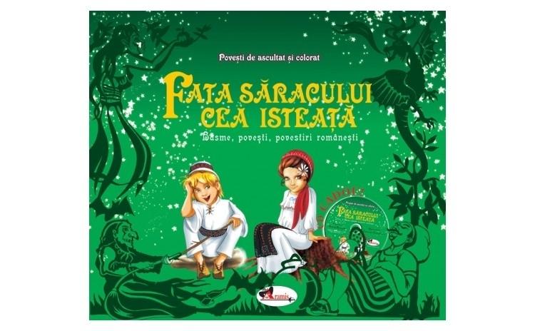 Fata saracului cea isteata - (Set 2 Carti +CD)
