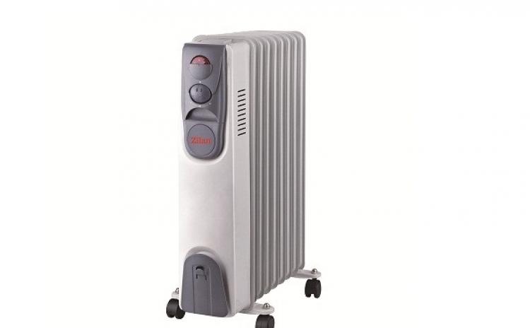 Calorifer Electric Zilan Zln-2111  9 Elementi  Putere 2000 W  3 Trepte De Putere  Termostat De Siguranta  Termostat Reglabil  La 262 Lei In Loc De 329 Lei
