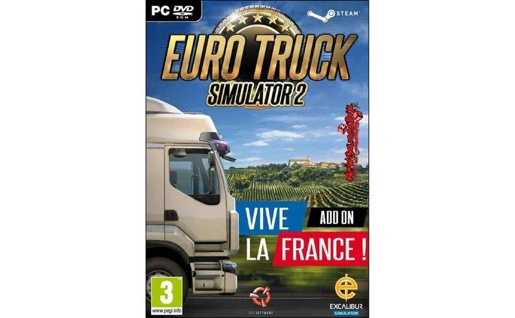 Joc Euro Truck Simulator 2: Vive La France Add-on En Euro Truck Simulator 2: Vive La France Add-on E