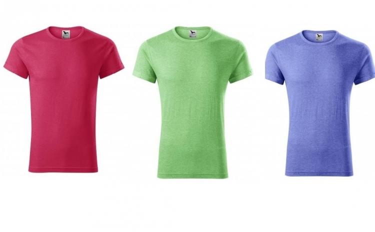 Imagine indisponibila pentru Tricou barbati - in culori melanj - 65 % poliester, 35 % bumbac