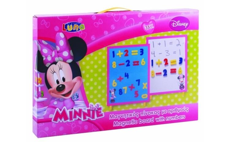 Tabla magnetica cu numere  Minnie