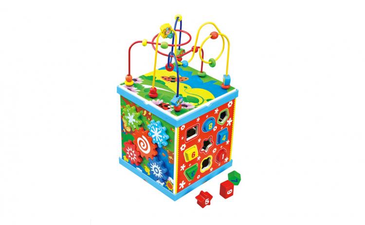 Cub educativ Montessori 8 in 1