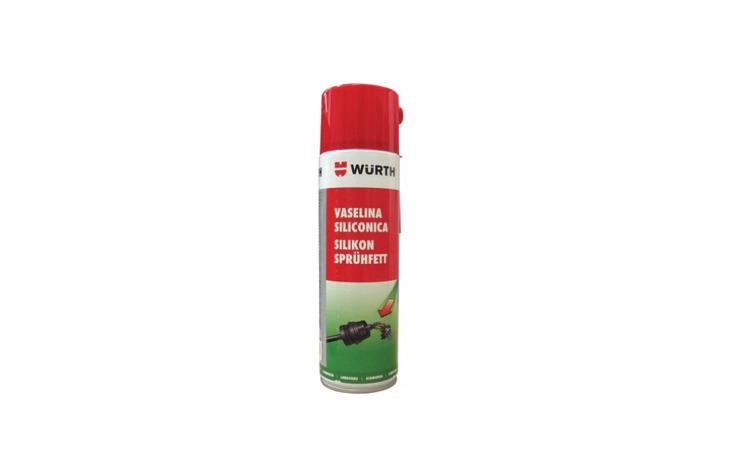 Spray vaselina alba cu silicon Wurth,