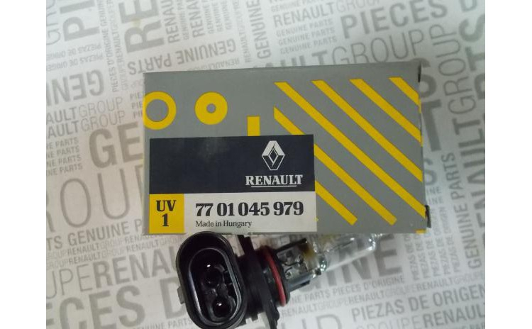 Bec HB3 12V 60W Original Renault