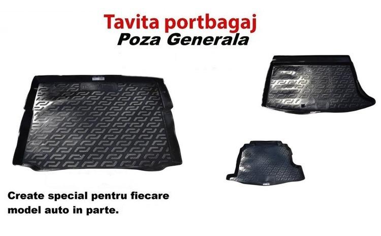 Covor portbagaj tavita Skoda Fabia III