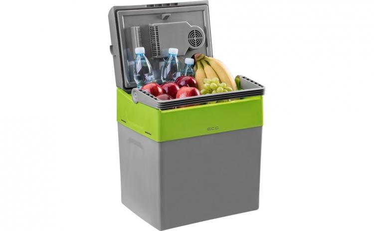Lada frigorifica auto, portabila, ECG AC 3020 HC, Dual, 12V/230V, 30 L, 52 W, A++