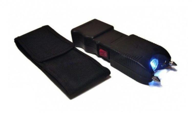 Electrosoc cu lanterna si sirena TW-10